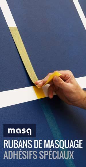 Ciret France - Masq peinture professionnelle - Rubans de masquage, adhésifs