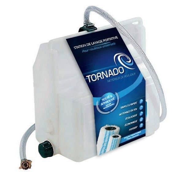 Nettoyeur de rouleau TORNADO PLUS – Permet de nettoyer rapidement et économiquement tous les rouleaux (peintures en phase aqueuse) par pression d'eau. – ACCESSOIRES ROTA Ciret