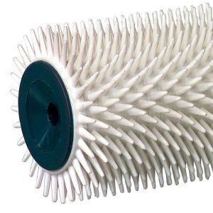 Zoom DEBULLEUR Pointes plastiques - Picots plastiques pointues 12 mm. Pour débuller peintures et résines sol. - MANCHONS & ROULEAUX - Ciret