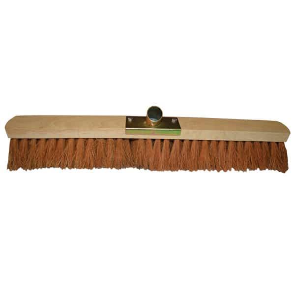 Balai Coco 60 cm – Semelle bois 60 cm