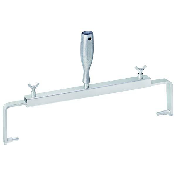 Monture Sol Double Bras Réglable 300-500 mm – Double bras aluminium réglable