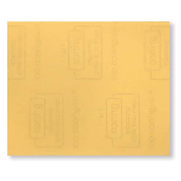 Papier Corindon Jaune – Oxyde d'alumine. Recommandé pour le bois