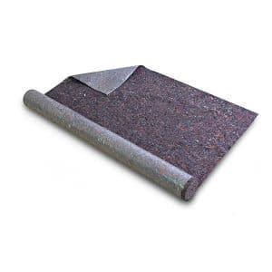 dont le revers est muni d'une feuille en polyéthylène imperméable et résistante aux solvants. - BÂCHES PREP Ciret