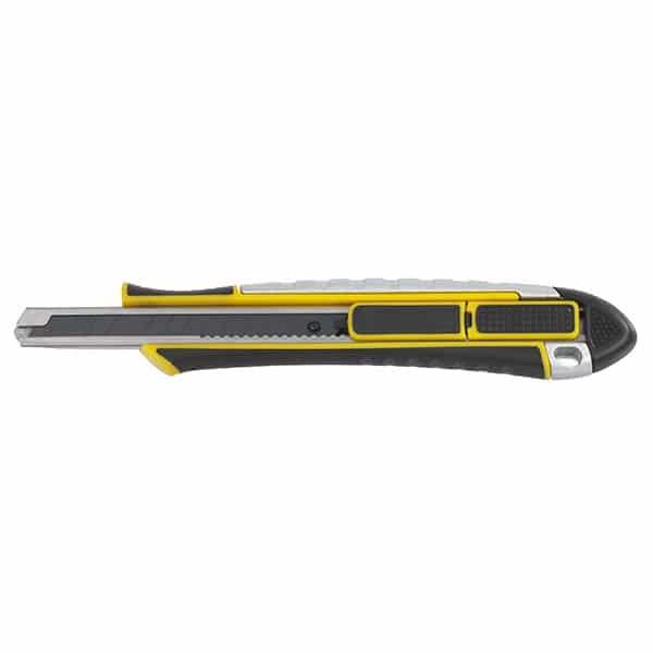 cutter bi mati re 2 en 1 position s curit 9 mm ciseaux couteaux cutters lames prep ciret. Black Bedroom Furniture Sets. Home Design Ideas