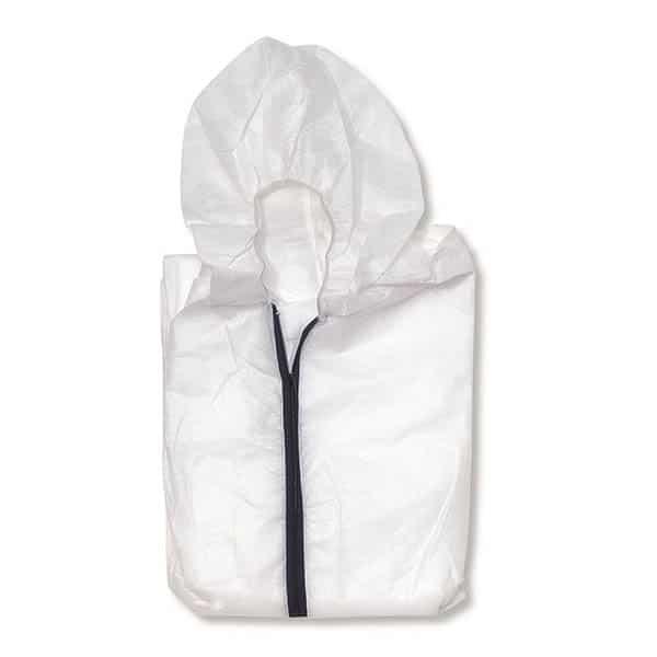 Combinaison de Protection Jetable – Protection contre les risques mineurs. Polypropylène. Poignets