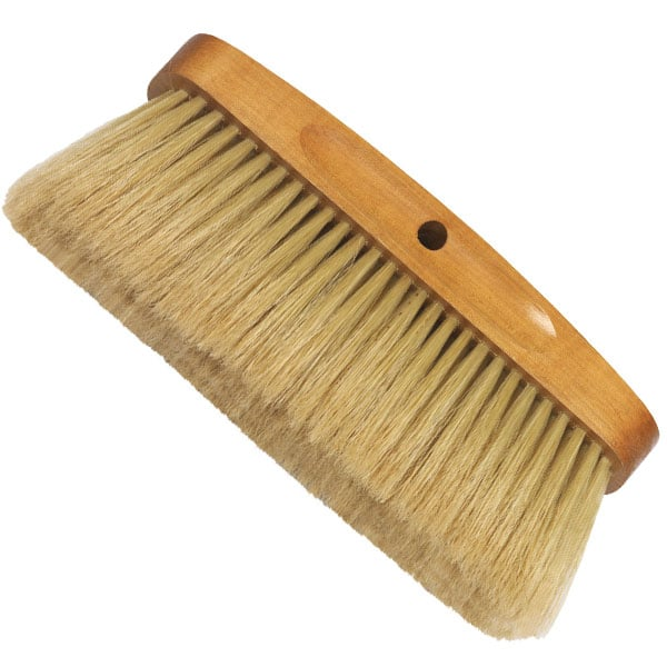 Brosse à Patiner Pures Soies Blanches 210 mm