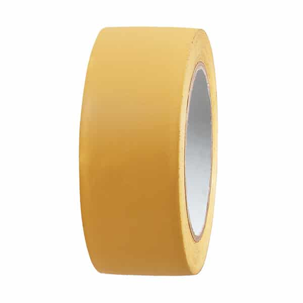 Ruban Adhésif PVC Strié JAUNE Facile à découper –  – Ciret