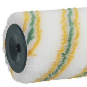 ROTA LOTEX 12 Antigouttes Extra Zoom. Polyamide tissé 12 mm. Excellente absorption et restitution de la peinture, grande facilité de nettoyage grâce au revêtement LoTex®. Manchons et rouleaux CIRET ROTA