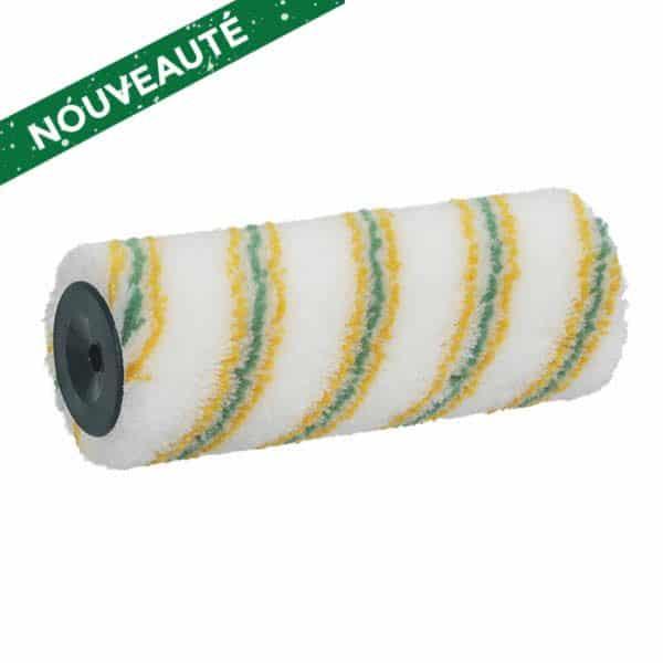 ROTA LOTEX 12 Antigouttes Extra. Polyamide tissé 12 mm. Excellente absorption et restitution de la peinture, grande facilité de nettoyage grâce au revêtement LoTex®. Excellente résistance des fibres pour une durée de vie particulièrement élevée. Ciret.