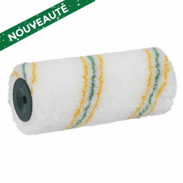 ROTA LOTEX 18 Antigouttes Extra. Polyamide tissé 12 mm. Excellente absorption et restitution de la peinture, grande facilité de nettoyage grâce au revêtement LoTex®. Excellente résistance des fibres pour une durée de vie particulièrement élevée. Ciret.
